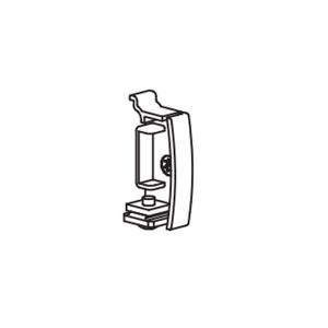 ピクチャーレール タチカワブラインド ピクチャーレールVP−M用 キャップ(右)1個 カラー フロスティホワイト|interia-kirameki