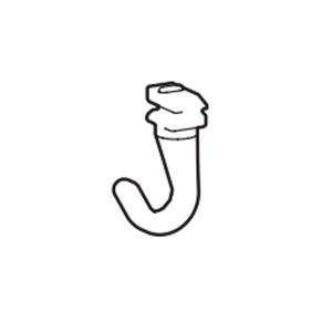 ピクチャーレール用フック  タチカワブラインド ピクチャーレールVP−M用 フックS(1個) 許容荷重10kg カラー フロスティホワイト|interia-kirameki