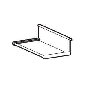 ピクチャーレール タチカワブラインド ピクチャーレールVP−M用 ラック(1個) 許容荷重1kg カラー フロスティホワイト|interia-kirameki