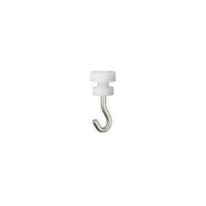 タチカワブラインド ピクチャーレール V20用 天井付けランナーフック 1コ 先入れタイプ 許容荷重5kg|interia-kirameki