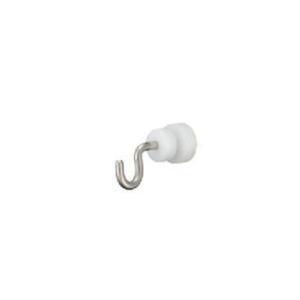 タチカワブラインド ピクチャーレール V20用 正面付けランナーフック 1コ 先入れタイプ 許容荷重5kg|interia-kirameki