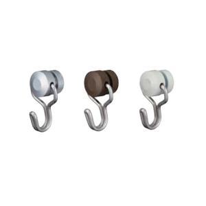 タチカワブラインド ピクチャーレール V20 VP−2共用 ユニバーサルフック(天井付け 正面付け共用) 1コ 先入れタイプ 許容荷重25kg