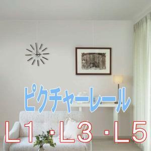 ピクチャーレール  トーソー ピクチャーレール L3(先付け用)9.5mm/12.5mm   L5(後付け用) サイズオーダー 51〜100cm|interia-kirameki