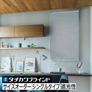プリーツスクリーン タチカワブラインド ペルレ25 「エブリ / ライフ」 シングルスタイル(コード式) interia-kirameki