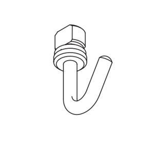 タチカワブラインド ピクチャーレール VP−1A用 フック(後入れ)1個|interia-kirameki