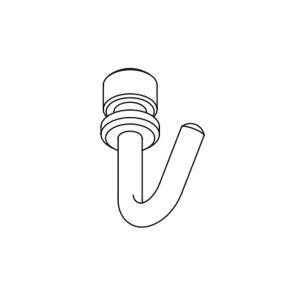 タチカワブラインド ピクチャーレール VP−1A用 フック(先入れ)1個