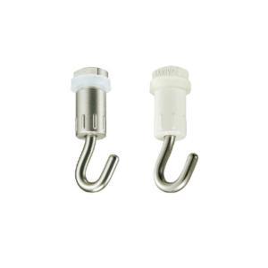タチカワブラインド ピクチャーレール VP−4、VP−L2 L2A L4用 天井付けフックA(後入れ)1個|interia-kirameki