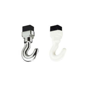 タチカワブラインド ピクチャーレール VP−4、VP−L2 L2A L4用 天井付けミニフック(後入れ)1個|interia-kirameki