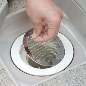 ユニットバス用 パンチングゴミ受け 抗菌ステンレス 浴槽用 風呂用|interia-m2008|02