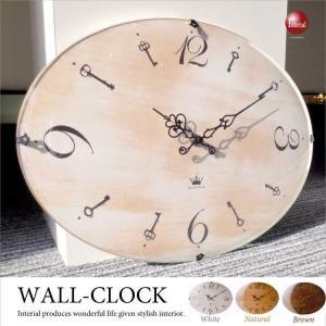 アンティークデザイン壁掛け時計 interial