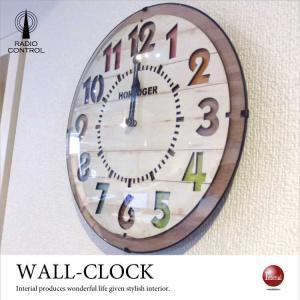 ナンバーデザイン・インテリア壁掛け電波時計 interial