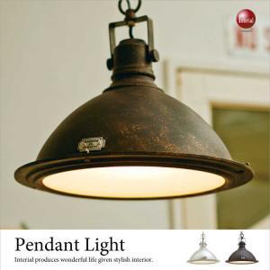 スチール&ガラス製・ペンダントライト(1灯)LED電球&ECO球使用可能|interial