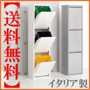 ゴミ箱 分別 ごみ箱 おしゃれ ダストボックス 分別 ホワイト 白|interior-bagus