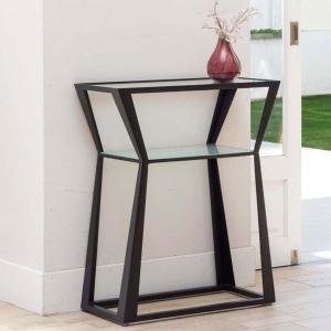 コンソールテーブル モダン ガラステーブル おしゃれ 北欧|interior-bagus