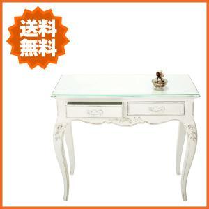 コンソールテーブル アンティーク調 机 デスク おしゃれ お姫様 姫系 プリンセス|interior-bagus