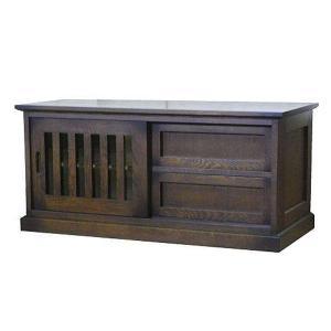 テレビ台 和風 テレビボード ロータイプ TV台 木製 TVボード 完成品 ローボード 和モダン|interior-bagus