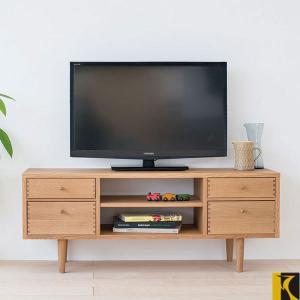 テレビボード 北欧 テレビ台 おしゃれ ローボード 完成品 TVボード 無垢 TV台 木製 AVボード 日本製 国産|interior-bagus