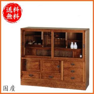 和の空間にぴったりな国産の和茶棚!職人が1台ずつ丹精込めて仕上げております。【サイズ】■W1210×...