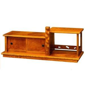 置床 置き床 サイドボード 和風 床の間 欅 飾台 飾り台 飾棚 飾り棚 interior-bagus