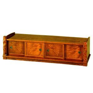 置床 置き床 サイドボード 和風 床の間 飾台 飾り台 欅 飾棚 飾り棚 interior-bagus