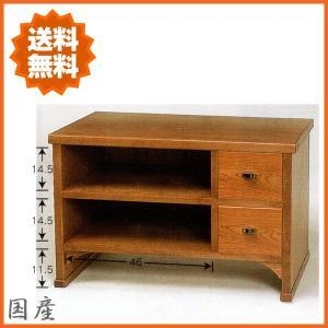 テレビ台 和風 ローボード 収納 テレビボード 木製 TV台 完成品 TVボード 日本製 国産|interior-bagus