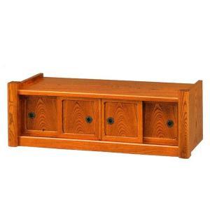 置床 置き床 和風 サイドボード 飾台 飾り台 飾棚 飾り棚 茶箪笥 interior-bagus