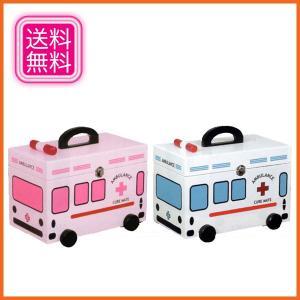 救急箱 木製 薬箱 おしゃれ くすり箱 白 クスリ箱 ホワイト ピンク|interior-bagus