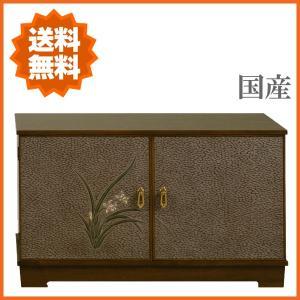 鎌倉彫 テレビ台 和風 ローボード 木製 テレビボード 完成品 TV台 日本製 TVボード 国産|interior-bagus