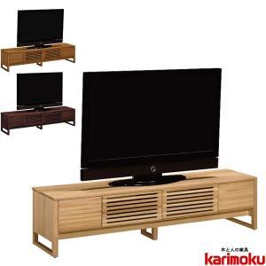 カリモク TVボード 幅180cm テレビボード ローボード TV台 扉付 テレビ台 北欧 モダン interior-bagus