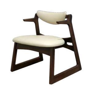 座椅子 腰痛改善 高座椅子 腰痛対策 キャスパーチェア 疲れにくい ダイニングチェア 合成皮革|interior-bagus