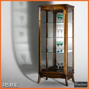 キュリオケース アンティーク調  コレクションケース ガラスケース コレクションボード LED 北欧|interior-bagus