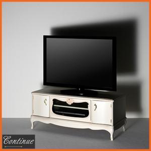 TV台 ローボード 幅120cm テレビ台 無垢 TVボード アンティーク調 テレビボード 完成品|interior-bagus