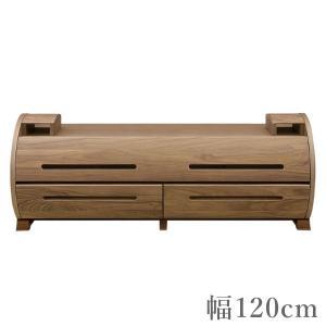 テレビ台 おしゃれ テレビボード 北欧 TV台 モダン TVボード ウォールナット ローボード 幅120cm|interior-bagus