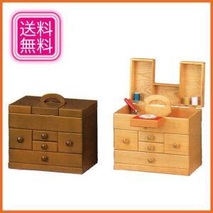 ソーイングボックス おしゃれ 裁縫箱 木製 針箱 日本製 国産の写真