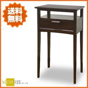 コンソールテーブル スリム コンソール 木製 電話台 fax台 おしゃれ ファックス台 北欧|interior-bagus