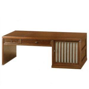 書道机 和風 書道デスク ロータイプ 文机 無垢 ローデスク 木製 幅100cmの写真