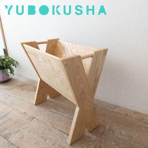 マガジンラック おしゃれ マガジンスタンド 木製 ブックスタンド スリム 本立て 手作り|interior-bagus