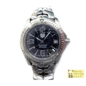タグホイヤー TAG HEUER メンズ腕時計 リンク クロノメーター SS デイト 自動巻き ブラック文字盤...