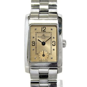 【中古】BAUME&MERCIER ボーム&メルシエ ハンプトン レディース腕時計 クオーツ 文字盤...