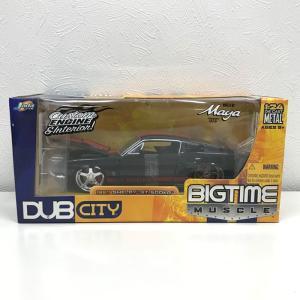 【中古】ジェイダトイズ フォード シェルビー マスタング GT500 DUB CITY ブラック 1:24 アメ車[jggZ]