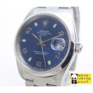 ROLEX オイスターパーペチュアルデイト 15200 SS...