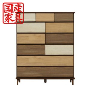 タンス チェスト ハイチェスト 幅100 木製 衣類収納 整理たんす 箪笥 収納家具 激安 interior-daiki