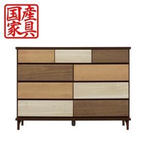 タンス チェスト ローチェスト 幅120 木製 衣類収納 整理たんす 箪笥 収納家具 激安 interior-daiki