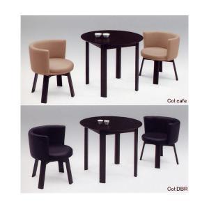 ダイニングテーブルセット ダイニングセット  2人掛け 3点セット テーブル幅80cm 回転チェア 食卓テーブルセット おしゃれ|interior-daiki
