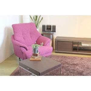 1人掛けソファ ソファー 北欧風 ファブリック 布 ハイバックソファ 椅子 完成品 interior-daiki