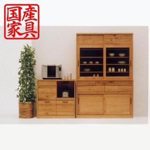 キッチンカウンター 幅100 カウンター 国産 日本製 完成品 高級家具 キッチン収納 キッチンワゴン カントリー interior-daiki 03