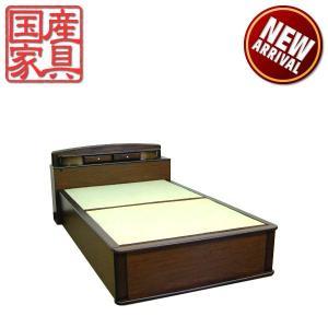 畳ベッド ベッド たたみベッド セミダブルベッド ベッドフレーム 和風 国産 モダン 激安|interior-daiki