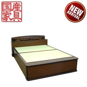 畳ベッド ベッド たたみベッド セミダブルベッド ベッドフレーム 和風 国産 モダン ロングタイプ 激安|interior-daiki