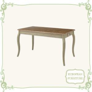 テーブル ダイニングテーブル 幅140 食卓テーブル 机 北欧 アンティーク 木製 激安|interior-daiki