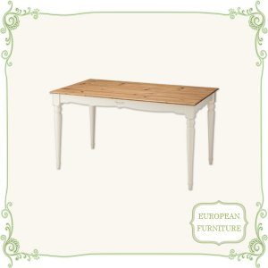 テーブル ダイニングテーブル 幅135 食卓テーブル 北欧 アンティーク 木製 激安|interior-daiki